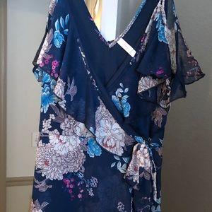 Mini sleeveless dress size M